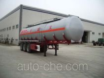 Shengde ATQ9401GHY chemical liquid tank trailer
