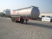 Shengde ATQ9402GHY chemical liquid tank trailer