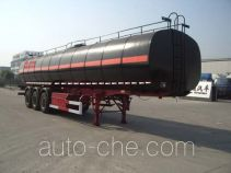 Shengde ATQ9403GHY chemical liquid tank trailer