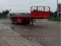 Shengde ATQ9403ZZXP flatbed dump trailer