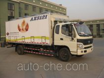 Anxu AX5121XXYCQ box van truck