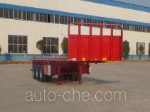 Liangshan Yuantian flatbed trailer