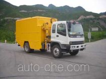 Natural gas flow metering plant truck