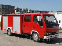 Longhua BBS5050GXFSG10 fire tank truck