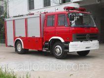 Longhua BBS5140GXFSG50ZP fire tank truck