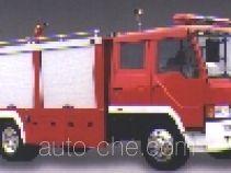 Longhua BBS5140GXFSG55ZP fire tank truck