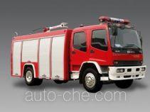 Longhua BBS5160GXFPM60ZP foam fire engine