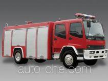 Longhua BBS5160GXFSG60ZP fire tank truck
