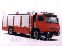 Longhua BBS5160GXFSG65ZP fire tank truck