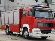 Longhua BBS5190GXFPM80SS foam fire engine