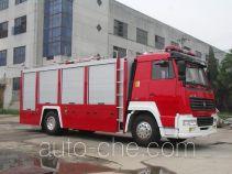 Longhua BBS5190GXFPM80ZP foam fire engine