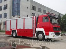 Longhua BBS5190GXFSG80ZP fire tank truck