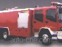 Longhua BBS5220GXFPM100ZP foam fire engine