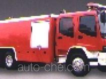Longhua BBS5220GXFSG100ZP fire tank truck
