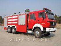 Longhua BBS5250GXFSG90/B fire tank truck