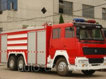 Longhua BBS5260TXFGP100 dry powder and foam combined fire engine