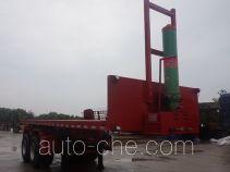 Ganan BGA9350ZZXP flatbed dump trailer