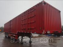 赣安牌BGA9401XXY型厢式运输半挂车