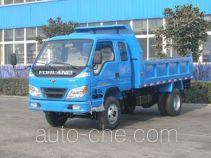 北京牌BJ4010PD25型自卸低速货车