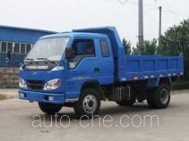 北京牌BJ4010PD7A型自卸低速货车