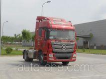 欧曼牌BJ4189SLFKA-XA型半挂牵引汽车