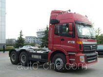 福田牌BJ4253SMFJB-S9型集装箱半挂牵引车