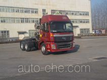 Foton Auman BJ4253SNFCB-AF dangerous goods transport tractor unit