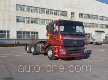 Foton Auman BJ4253SNFKB-XM dangerous goods transport tractor unit