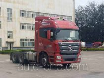 Foton Auman BJ4259SNFKB-AB dangerous goods transport tractor unit