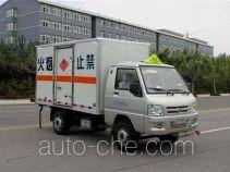 Foton BJ5020XRQ-S1 flammable gas transport van truck