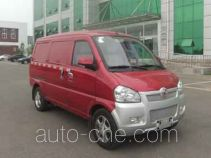 北京牌BJ5020XXYV3R-BEV型纯电动厢式运输车