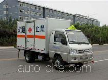Foton BJ5030XRQ-A1 flammable gas transport van truck