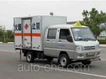 Foton BJ5030XRQ-E1 flammable gas transport van truck