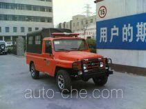 北京牌BJ5030XXF2型通讯指挥消防车