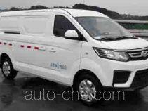 北京牌BJ5030XXYDMN5X3BEV型纯电动厢式运输车