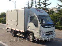 Foton BJ5032XYK-FB автофургон с подъемными бортами (фургон-бабочка)