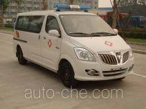 Foton BJ5036XLL-XA медицинский автомобиль холодовой цепи для перевозки вакцины