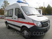 福田牌BJ5038XJH-XF型救护车