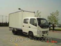 奥铃牌BJ5039V3DB3-B型厢式运输车