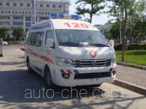 福田牌BJ5039XJH-E5型救护车