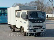 奥铃牌BJ5041V7DW5-Z1型厢式运输车