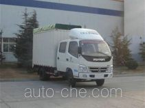 Foton BJ5041V8DEA-S2 soft top box van truck