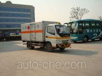 Foton Ollin BJ5041XWY-S dangerous goods transport vehicle