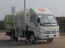 福田牌BJ5042ZZZE5-H1型自装卸式垃圾车