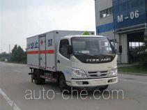 Foton BJ5043XRQ-L1 flammable gas transport van truck