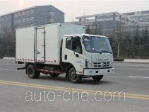 福田牌BJ5043XXY-J7型厢式运输车