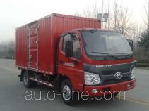 Foton BJ2045XXY-1 cross-country box van truck