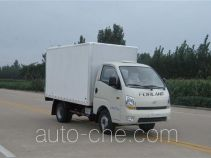 Foton insulated box van truck