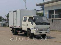 福田牌BJ5046XXY-F3型厢式运输车