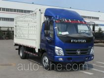 Foton BJ5049CCY-FJ грузовик с решетчатым тент-каркасом